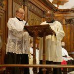 L'abbé Benoît Ménégné, délégué épiscopal de la commission d'enquête